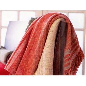 Manta - Cobertor Verano 2 1/2 Plazas-cubre Sillón Rustico
