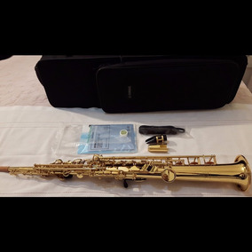 Sax Soprano Yamaha Yss475 Serie Ii Made In Japan Lindo Novo