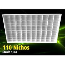 Estante Expositor Hot Wheels - 110 Nichos Coleção - 1;64