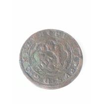 Moneda España Spain Maravedies 1597 Resello V I I I Felipe