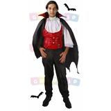 Roupa Drácula Adulto Halloween Vampiro Morcego Diadas Bruxas