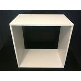 Cubo Madera Fibrofacil 30x30x20!