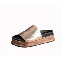 Suecos De Cuero. Zuecos De Madera. Zapatos De Damas. Ss17.