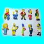 Bonecos Simpsons Homer Bonecos Os Simpson Bart Kit 10 Peças