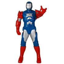 Boneco Homem De Ferro Patriota Premium 57cm 0458 Marvel Mimo