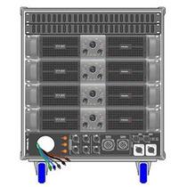 Proel Amplificador Rack Lineal Axiom Modelo Axracks3