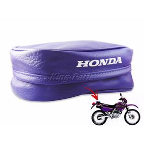 Bolsa Bagageiro Traseira Roxa Protercapas - Honda Xr 200