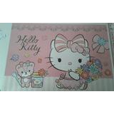 Kit Painel Decorativo Hello Kitty Sanrio 64x45cm+14 Enfeites