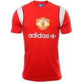 Playera Originals Manchester United Hombre Adidas Aj7983