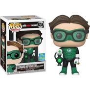 Funko Leonard De Lanterna Verde  Big Bang Theory 836 Limited