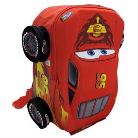 Mochila Escolar Primaria Rayo Mcqueen 3d Cars Mod: 93431
