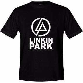 Camiseta Camisa Unissex Linkin Park Blusa Música
