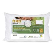 Travesseiro Nasa Premium Flocos De Visco Capa Impermeável