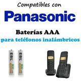 Par   Pilas / Baterias Recargables Aaa   Teléfonos Panasonic