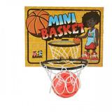 Mini Jogo Basquete Infantil Tabela Bola Barato