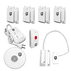 Kit 8 Sensores Para Alarma Inalambrica Gas Negocio Casa