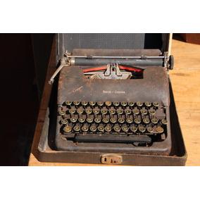 Maquina De Escrever Antiga Smith & Corona Clipper