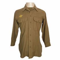 Camisa Lã Farda De Oficial - Us Army Segunda Guerra Mundial