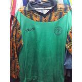 Camiseta De Nigeria adidas De Los 90 Usada Por Arqueros