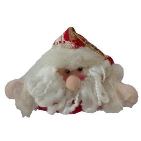Adorno Arbol Papanoel 12cm Regalo Navidad Decora Casa Hogar