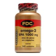 Ômega 3 - Epa - 1000mg - 140´s - Fdc Vitaminas - Original