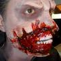 Kit Maquiagem De Terror Slug Sangue Falso Queimaduras Cortes