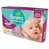 Pañales Pampers Premium Care P 5-7,5kg X 40 U.