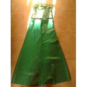 Vestido De Fiesta Ó15 Años Largo Impecable Verde Esmeralda