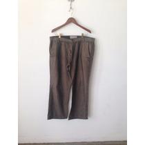 Pantalon Old Navy Marron Hombre Clasico Importado