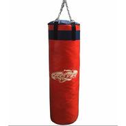 Bolsa De Boxeo Con Relleno Cadenas Proyec 0,90 M Kick Muay