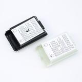 Tapa Caja Baterías Xbox 360 Blanco Y Negro Nueva