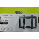 Base Soporte Fijo Para Tv Lcd Led Plasma 14¨- 32¨