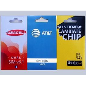 Chip Unefon Att Iusacell Internet Ilimitado 1 Dia