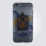 Funda Protector Cel Transparente Club Tigres Nuevo Leon