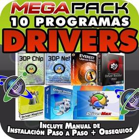Programas Drivers Pc Sonido Audio Video Red Lan Wlan Wifi Y+