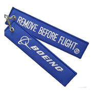 Llavero  Remove Before Flight ® Boeing