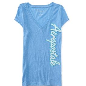 Camiseta Blusa Aeropostale Mujer Talla S