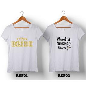 244cb669a Team Bride Camiseta - Camisetas e Blusas Manga Curta para Feminino ...