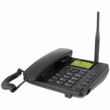 Telefono Inalambrico Con Chip Intelbras Cf-4000 Negro