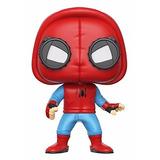 Funko Pop! Marvel - Spiderman Homecoming Traje Casero