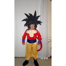 Disfraz Goku Fase 4 Con Peluca!!!!