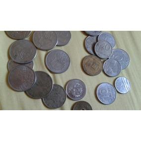 Cedulas De Dinheiro Antigo E Coleção De Moedas