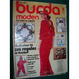 Revista Burda Con Moldes Ropa Moda Costura Confeccion 11/84