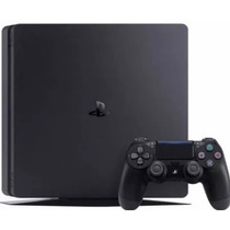 Ps4 500gb Slim Playstation 4 Play 4 Sony Slim - 2 Controles