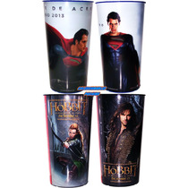 Vaso Original De Cine El Hobbit Superman Man Of Steel Legola