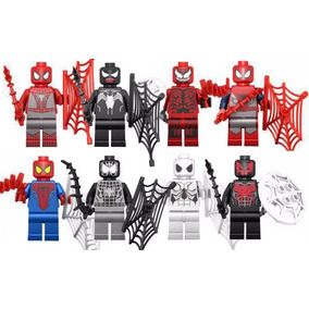 Set Sw3 Hombre Araña Carnage Spiderman Compatible Con Lego