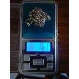 Cadena De Plata Ley 925 16.1 Gr. 36 Cm Precio Por Gr