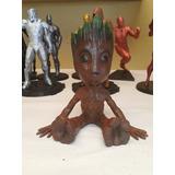 Figuras Accion - Baby Groot Guardianes - De Coleccion 3d