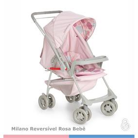 Carrinho De Bebê Com Alça Reversível Milano Galzerano