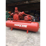 Compressor De Ar Wayne 40 Pés Motor 10 Cv